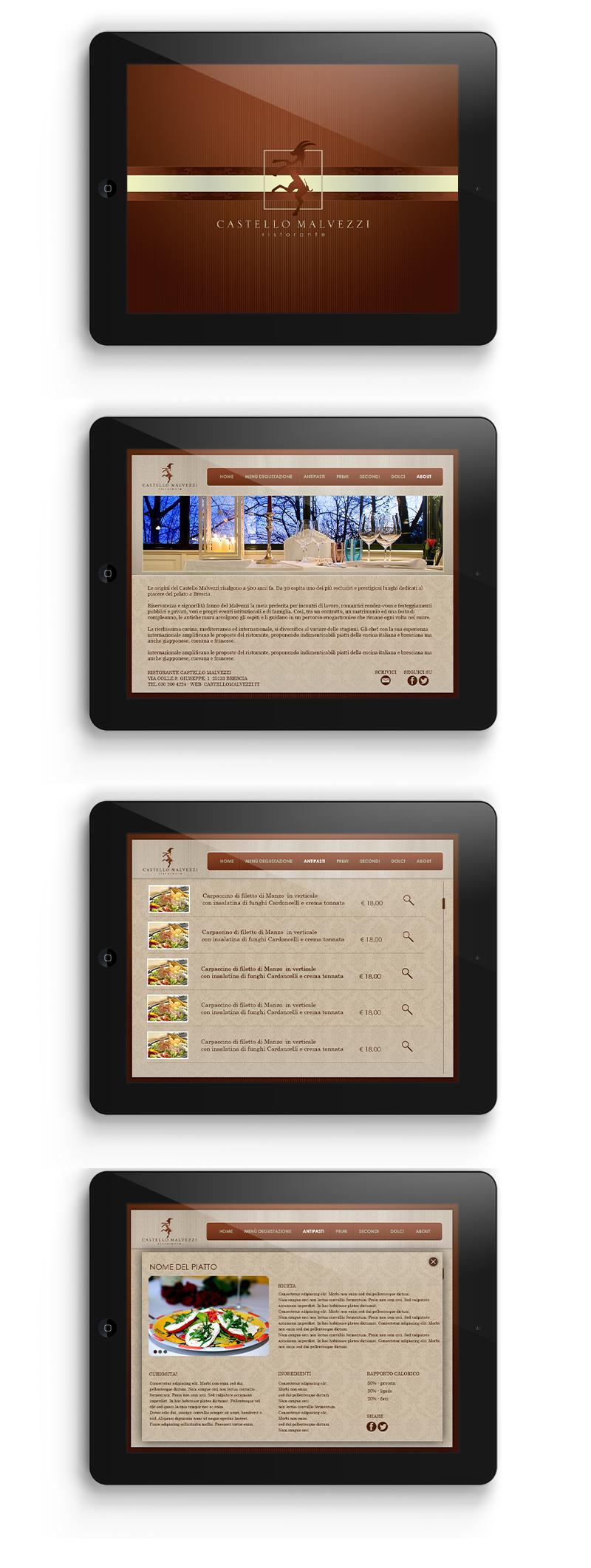 Castello Malvezzi - App iPad